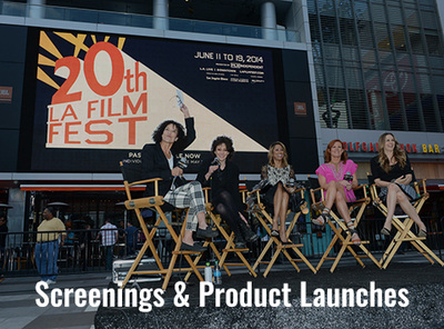 Screenings & Product Lanches